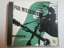 PAUL MCCARTNEY UNPLUGGED USED CD VG++ LIMITED NUMBERED #024769 BEATLES RARE OOP