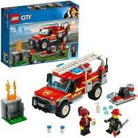LEGO City 60231 FIRE CHIEF RESPONSE TRUCK BOXED NEW *FREEPOST*