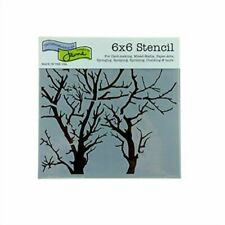 The Crafter's Workshop Branches Reversed Mini Template Black