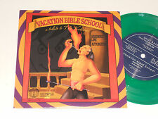 "SHOT BAKER 7"" nm VACATION BIBLE SCHOOL Green vinyl Tribute to the Vindictives"