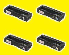 4-Pk Set GENUINE Ricoh TONERS SP C231N C232DN C232SF C242DN C320D -- NEW !!!