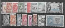Solomon Islands 1956 QEII set of 17 very fine unhinged mint