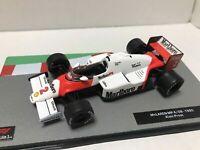 Formula 1 car collection Marlboro McLaren 1985 MP4/2B 1:43 calcas