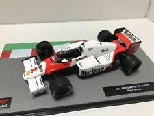 Formula 1 car collection Marlboro McLaren  MP4/2B 1985 de Prost 1:43 calcas