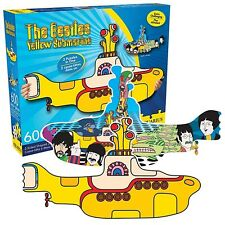Beatles Yellow Submarine double sided 600 piece jigsaw puzzle  (nm) REDUCED -