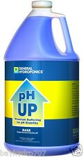 General Hydroponics 1 Gallon 128oz pH Up Base SAVE $$ W/ BAY HYDRO $$