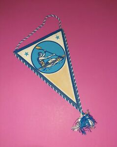 Soviet Union Pennant Banner - Sports boating - USSR #18 . Original