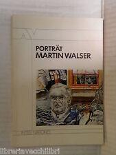 PORTRAT MARTIN WALSER Dichterportrat in Selbstaussagen Inter Nationes 1986 libro
