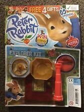 Peter Rabbit Magazine Issue 1 Peter le Lapin Explorer Kit