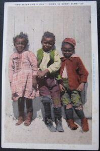 MEMPHIS TN ~ 1930's Two Jacks And A Jill ~ Down in Sunny Dixie ~ BLACK AMERICANA