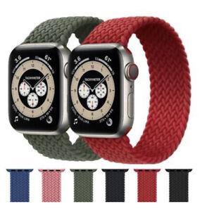 Correa Cinturino para per Apple Watch 38-40mm 42-44mm 3 4 5 6 SE NAILON Trenzada