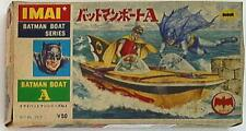 Vintage 1960's IMAI Batman Boat Series No.4 Kit No.753 Very Rare