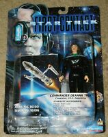PLAYMATES STAR TREK FIRST CONTACT COMMANDER DEANNA TROI FIGURE (New In Package)