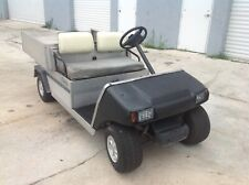 02 Club Car Carryall gas Utility golf Cart Industrial Burden Carrier 11hp engine