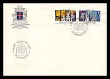 Iceland 1987 FDC, Europa CEPT XXVIII. Modern Art Within Architecture. Lot # 3.