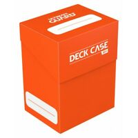 Orange Deck Case / Box 80+ NEW Ultimate Guard Flipside Plastic