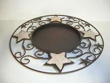 weihnachtliche teller aus metall g nstig kaufen ebay. Black Bedroom Furniture Sets. Home Design Ideas