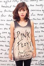 Pink Floyd The Wall Pop Art WOMEN T-SHIRT DRESS Tank TOP Size S M