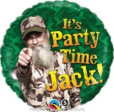 DUCK DYNASTY Set of TWO BIRTHDAY Balloons FREE SHIPPING Uncle Si PARTY JACK