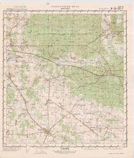 Russian Soviet Military Topographic Map – ZABLUDOW (Poland), 1:50 000, ed. 1976