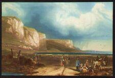 England Kreidefelsen Farblithographie W. Callow 1850