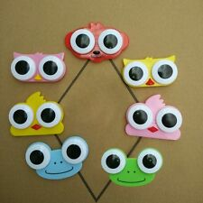 3D Adorable Soak Cute Owl Big Eyes Frog Travel Lens Box Contact Storage Case