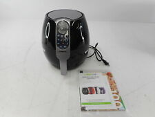 GoWISE USA GW22638 - 3.7-Quart Programmable Air Fryer with 8 Cook Presets, Black
