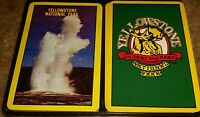 Vintage Yellowstone National Park Playing Cards LOT OF 2 SETS one deck sealed!