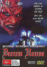 Demon House - DVD - VINTAGE RETRO HORROR MOVIE - Amelia Kinkade