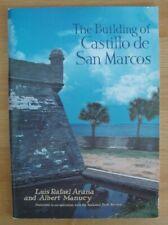 Fort Construction Book Florida Castillo De San Marcos Saint Augustine