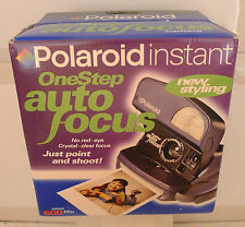 Polaroid 600 One Step Express Auto Focus Blue Instant Film Camera NEW SEALED