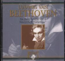 Various Classical(CD Album)Beethoven Piano Sonatas Nos.8, 3 & 4-VG