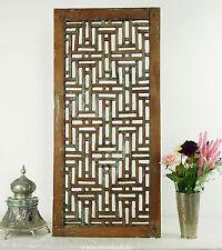Antike massiv holz islamische Mashrabiya Jali Wanddekoration Wandschmuck 16/B