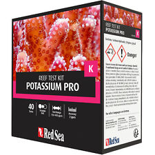 Red Sea Test Kit Potassium Pro Coral Color K Potassium Test FREE USA SHIPPING