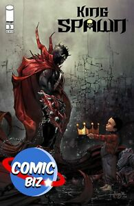 KING SPAWN #3 (2021) 1ST PRINTING VARIANT COVER C FERNANDEZ IMAGE COMICS