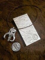 Star Wars The Mandalorian Beskar bar ingot and mythosaur pendant & coin combo!