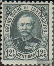 Luxembourg D48 with hinge 1891 official stamp