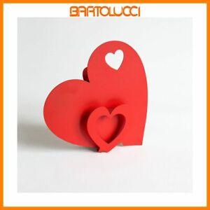 Arti & Mestieri - Umidificatore Cuore I Love - colore Rosso