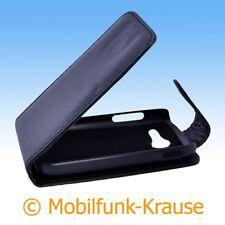 Flip Case Etui Handytasche Tasche Hülle f. Samsung Galaxy Pocket 2 (Schwarz)