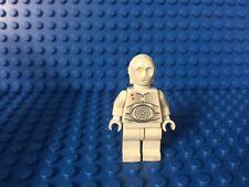 Lego Star Wars K-3PO Rebel Lt Protocol Droid minifigure 7666 Hoth - RARE