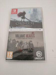 Child of Light & Valiant Hearts - Ubisoft - Switch - Neuf/New