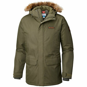 Columbia Penns Creek Parka in Olive Green Hooded Jacket $220, L, Nwt!