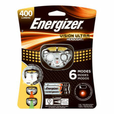 Energizer - Vision Ultra 400 Lumen LED Headlamp - Black/Yellow