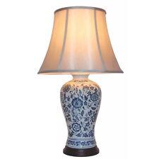 Large Oriental Ceramic Porcelain Table Lamp (M10253) - Chinese Mandarin Style