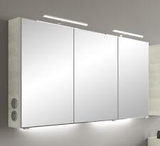 Pelipal Badmöbel > Spiegelschrank SOLITAIRE 6005 - 05 in Esche weiß 140 cm + NEU