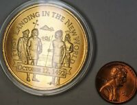 1992 First Landing The New World Christopher Columbus Uncirculated Bronze Medal