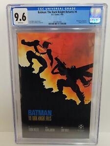 BATMAN THE DARK KNIGHT RETURNS 4 CGC 9.6 NM+ Batman vs. Superman Frank Miller
