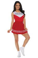 Brand New Cheerleader Cheer Adult Costume (Red)
