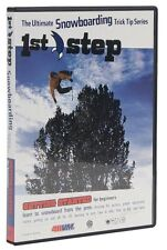Burton 1st Step Ultimate Snowboarding Trick Tip Series DVD - New! Free Shipping!