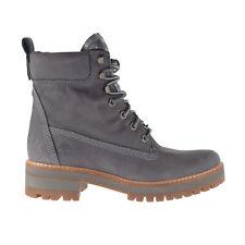 Timberland Courmayeur Valley 6 Inch Women's Boots Dark Grey Nubuck TB0A1KLV